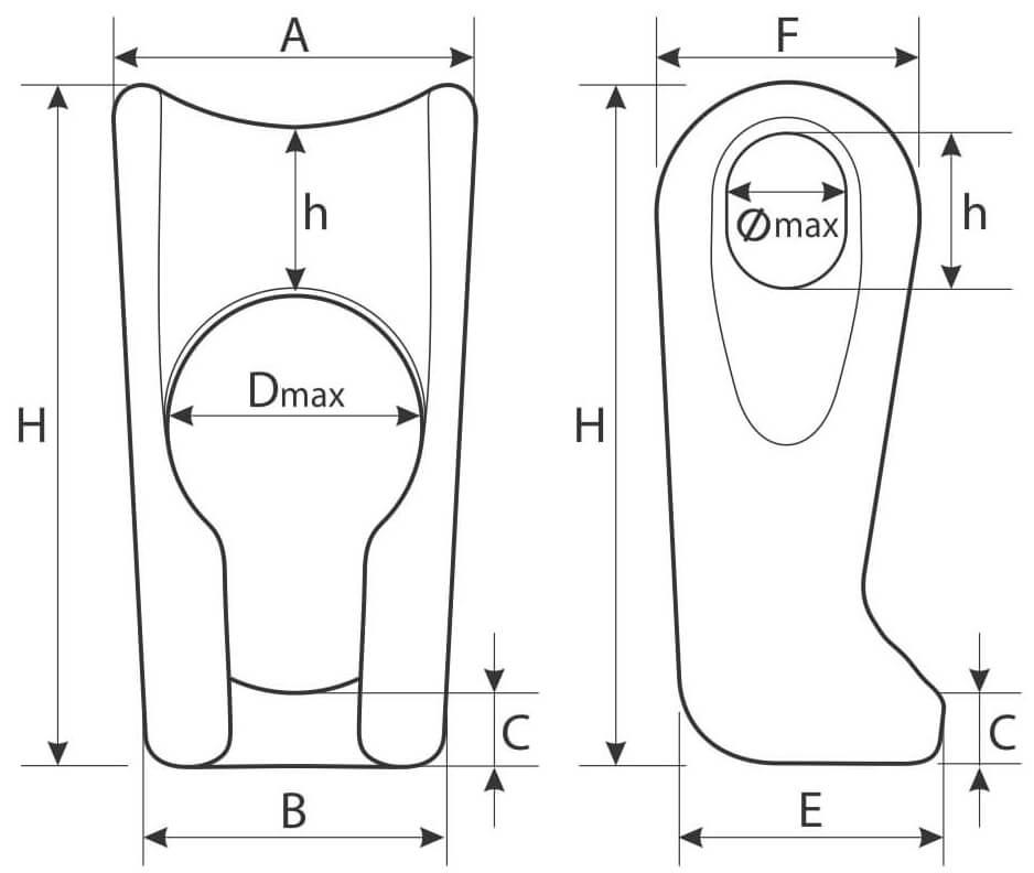 element culisant ajustare cablu